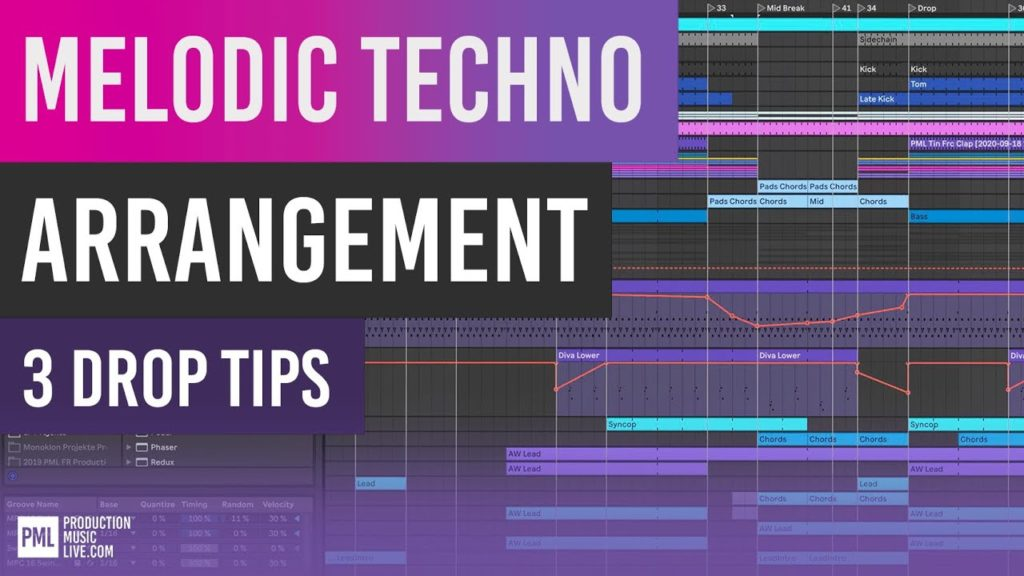 3 Arrangement Tips for Melodic Techno Drops   Ableton Tutorial 2