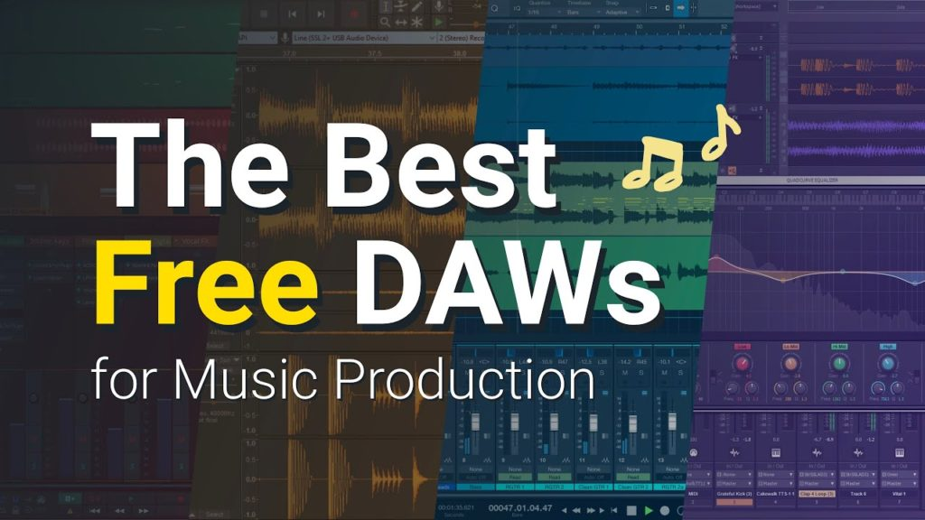 Free Music Production and Recording Software - Best Free DAWs (2021) 2