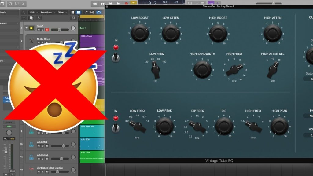 DON'T SLEEP ON THIS STOCK EQ PLUGIN   Low End PERFECTION! 2