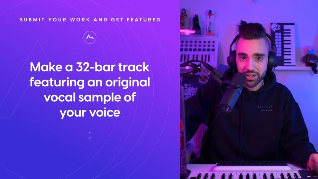 ADSR Production Challenge - Make a 32-bar track featuring an original vocal sample of your voice 2