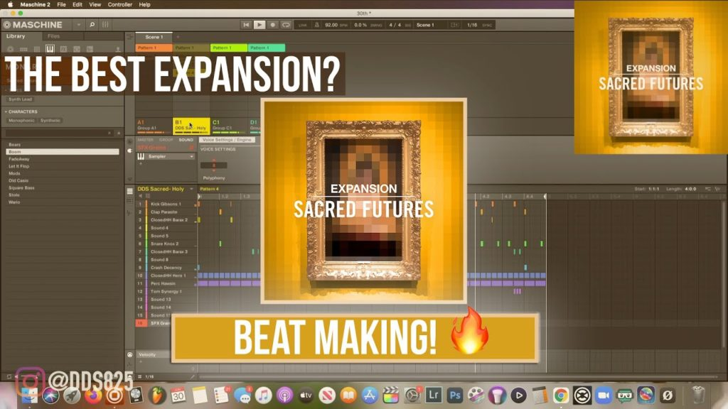 Sacred Futures = The BEST Native Instruments Expansion. Beat Making! 2