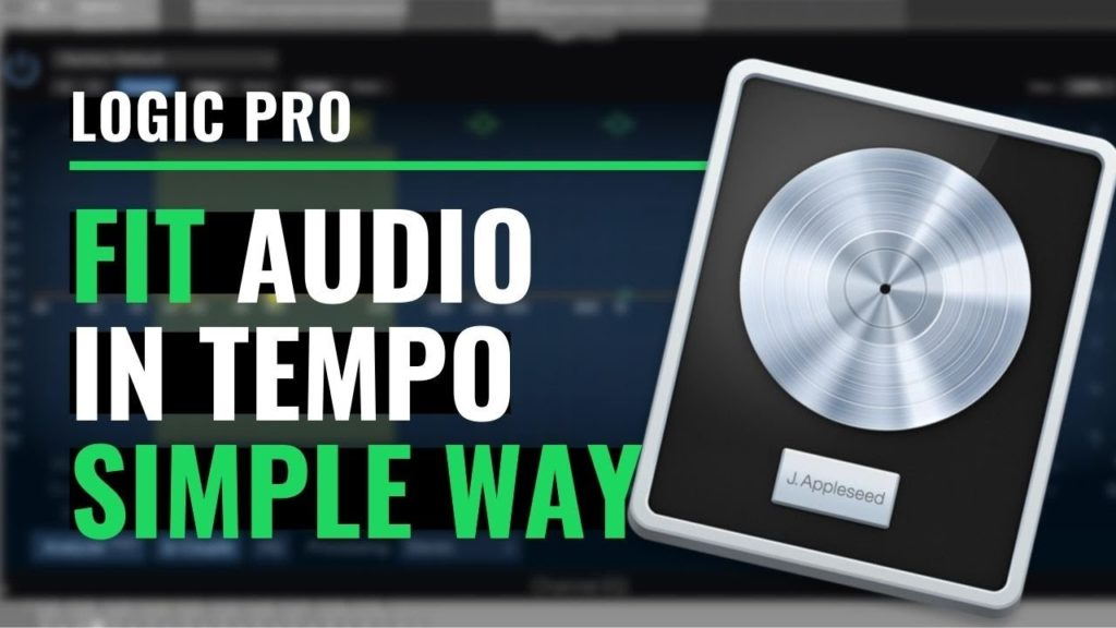 How to change the tempo of a sample and make it fit in Logic Pro X 2