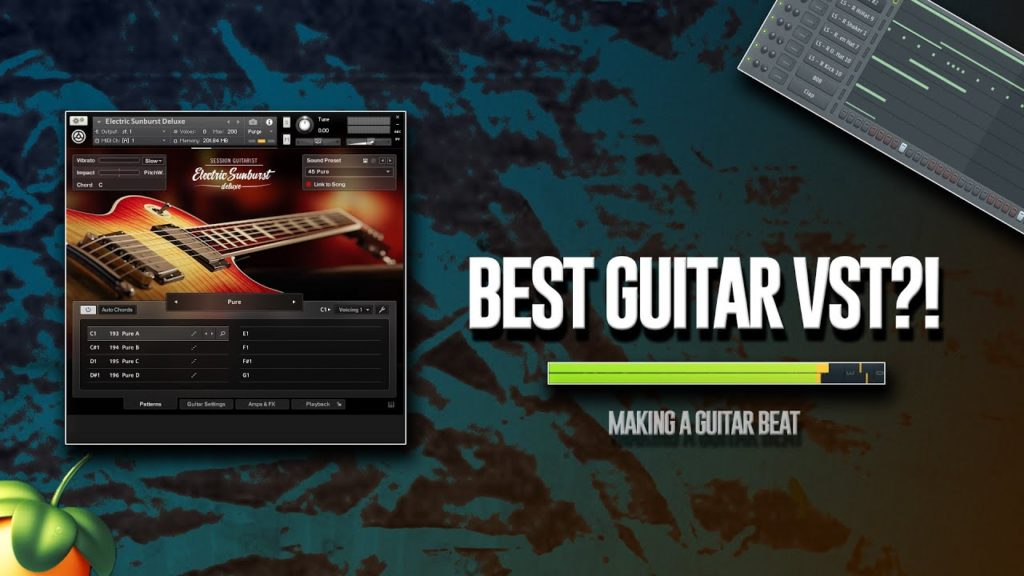 Making A Fire Guitar Beat With A New VST I Got 2