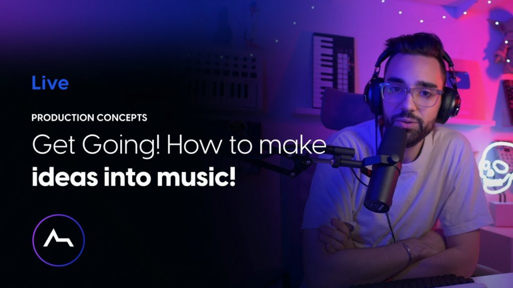 Live - Get Going! How to make ideas into music! 2