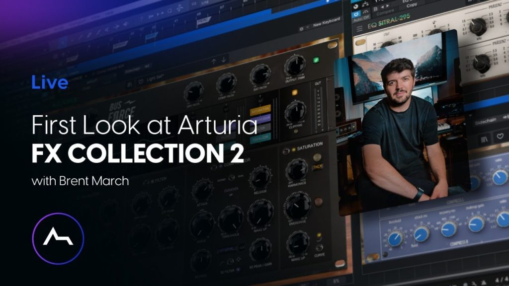 Live - Arturia FX COLLECTION 2 Review - New FX + Features, Functions & First Look 2