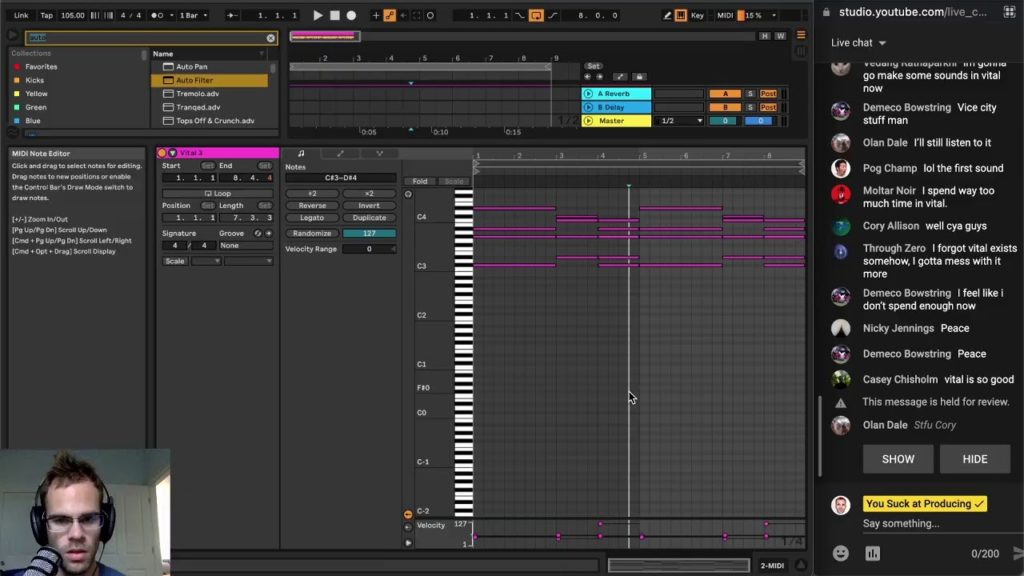 Having a nice time in Ableton 2