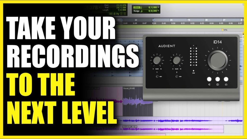 Audient iD14 MKII: Take Your Recordings To The Next Level 2