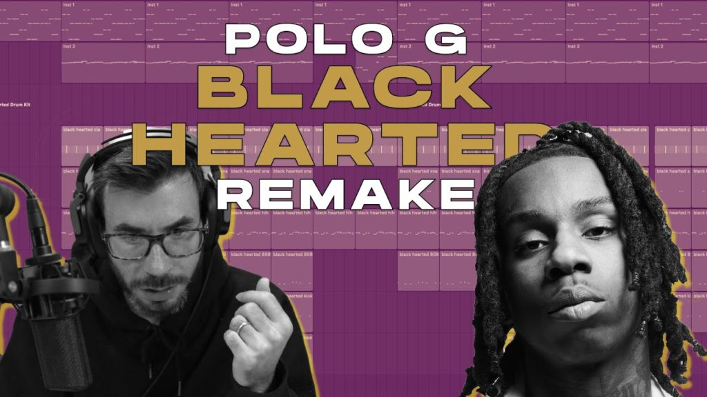 Polo G - Black Hearted (IAMM Remake) 2