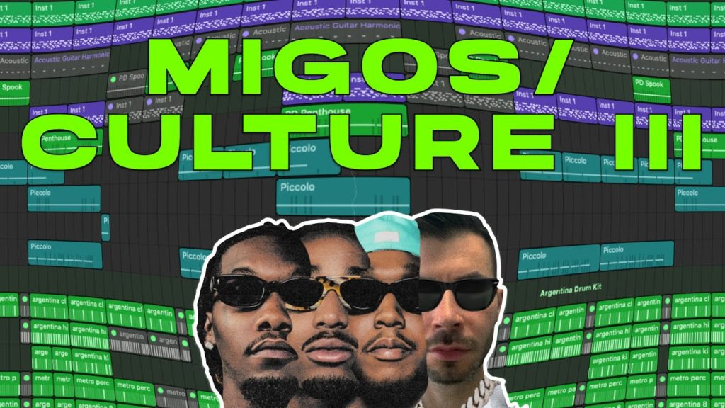 MAKING A MIGOS/CULTURE III TYPE BEAT FROM SCRATCH 2