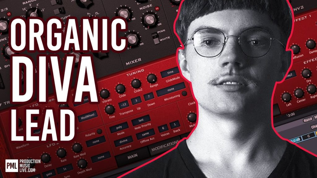 Diva Tutorial: Organic MELODIC House LFO-Lead   Sound Design   Colyn, Afterlife, All Day I Dream 2