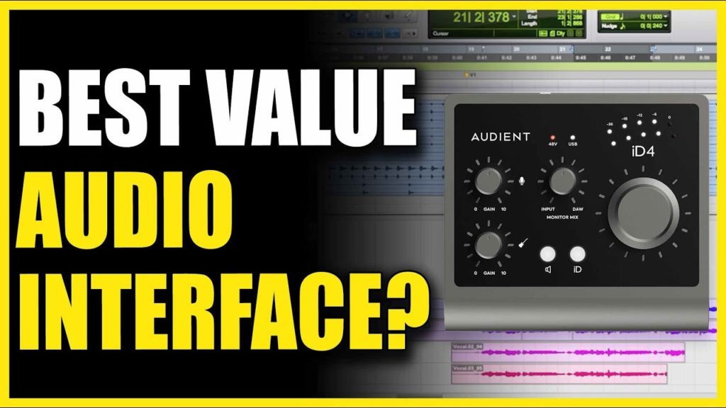 The Best Value Audio Interface? Audient iD4 MKII 2