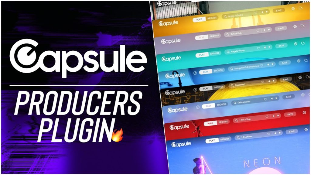 Capsule: The Plugin Made For Producers!🔥 2