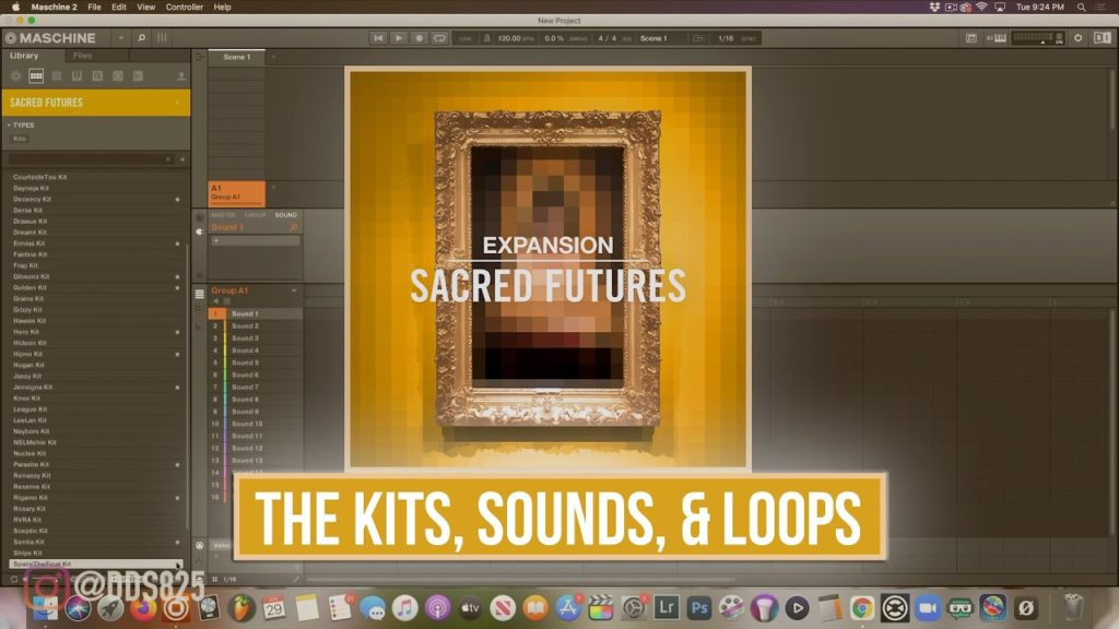 New Sacred Futures Expansion (The Loops, The Kits, The Sounds,) Sound By Sound 2