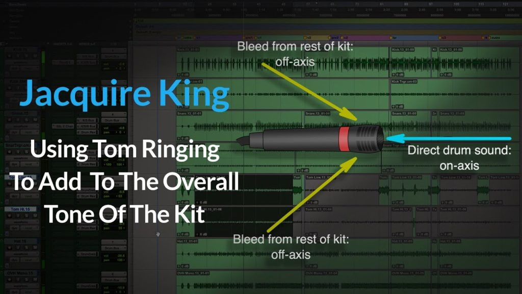 (Drums) Mixing Toms w/ Jacquire King   Using Tom Ringing To Add To the Overall Tone Of The Kit 2