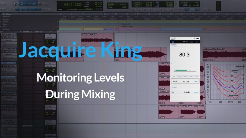 Studio Monitoring Levels for Mixing | How To Monitor correctly w/ Jacquire King 2