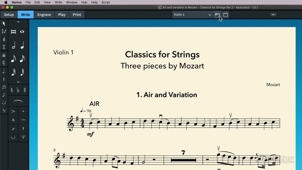 Dorico 101: Dorico Basics: Notation Tools and Techniques - Quick Tour of the Interface 2