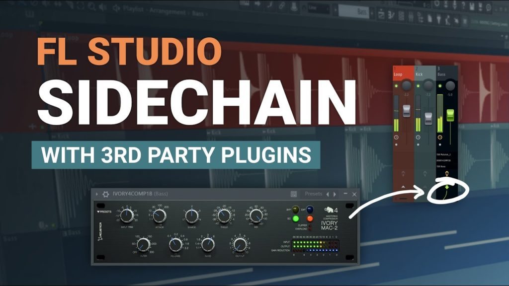 How To Sidechain with Third Party Plugins in FL Studio - EASY Method 2