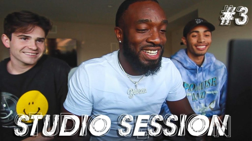 Cooking Up Beats From Scratch W/ TK And Beezo!!! (Studio Session #3 With Sharpe) 2