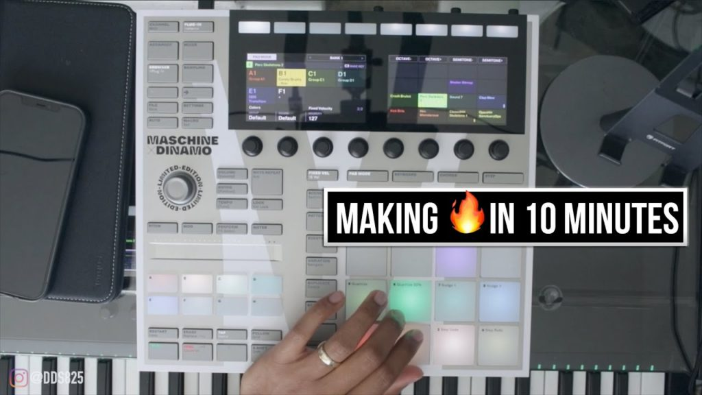 I Made This Beat in Less Than 10 Minutes! Maschine Beat Making 2