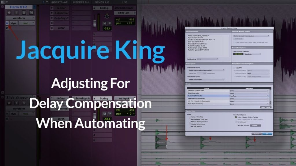 Delay Compensation | How To Fix Latency when Mixing w/ Jacquire King 2