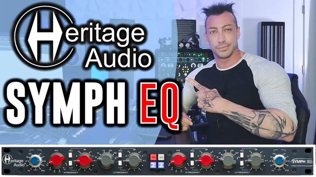 HERITAGE AUDIO SYMPH EQ 🔥 BEST BUDGET MIX AND MASTERING EQUALIZER - Official Demo Review MixbusTv 2