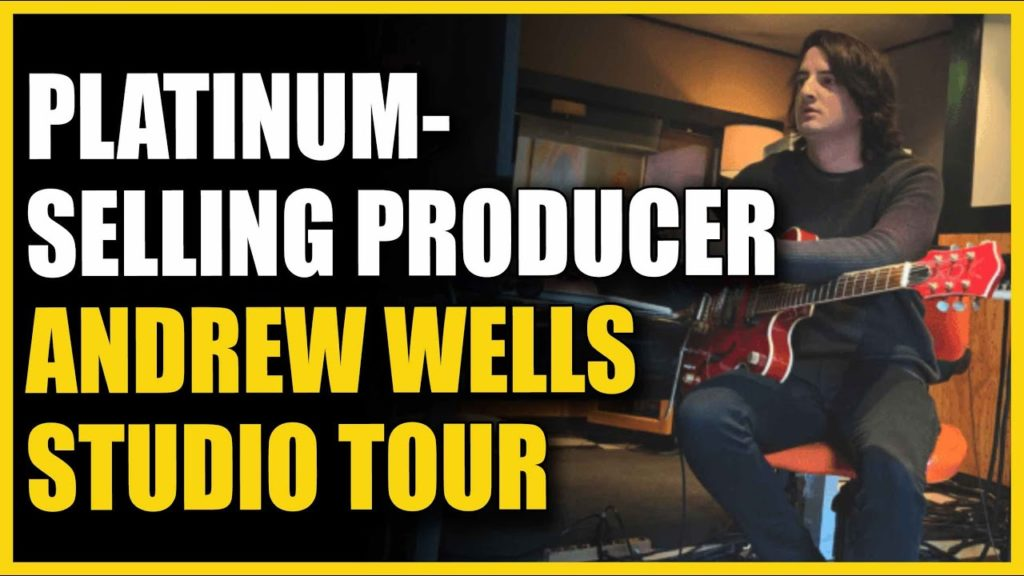 HOME STUDIO TOUR with Andrew Wells Platinum-Selling Producer (Halsey, Celine Dion, X Ambassadors) 2