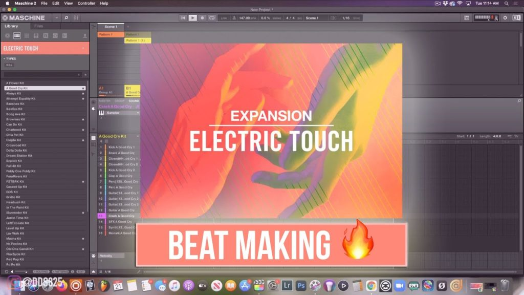 Electric Touch Expansion Beat Making! 🔥 2