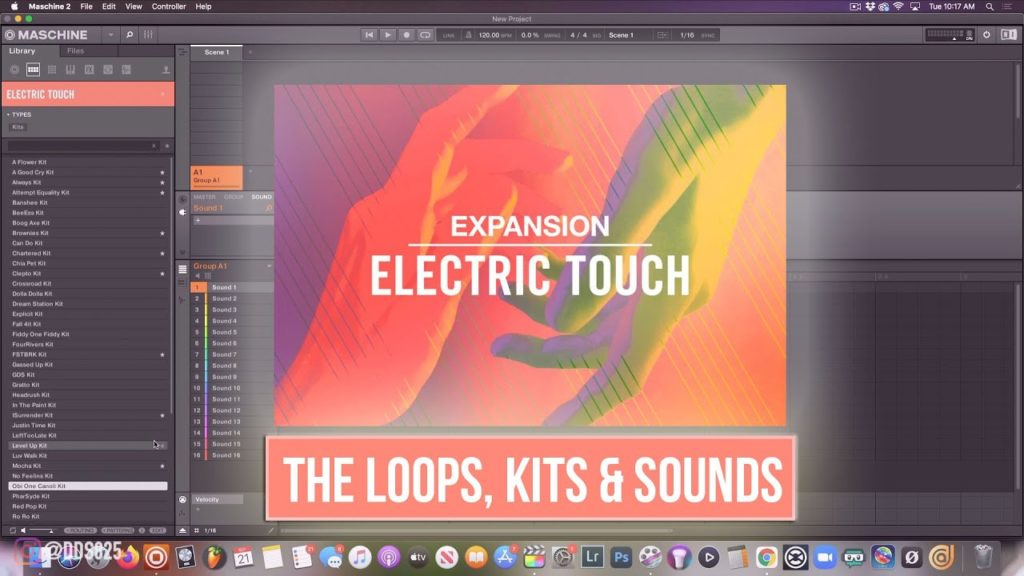 🔥 New Electric Touch Expansion From Native Instruments (The Loops, The Kits, The Sounds) 2