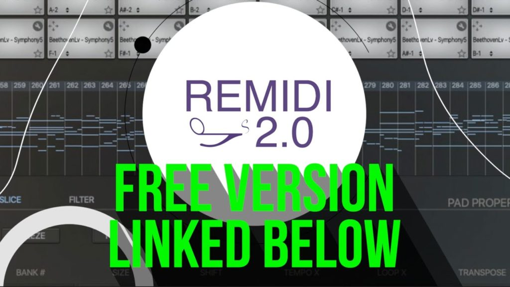 Remidi 2 Chop & Sample Midi chords and Melodies like they were audio with 2