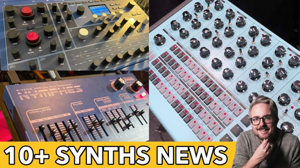 Dreadbox Nymphes, Erica Synths PERKONS, Waldorf M & MUCH MORE from SUPERBOOTH21 2