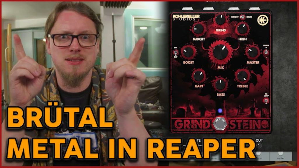 The most METAL PEDAL Plugin so far....? HM-2 + Much more... 2