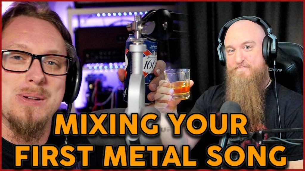 """The Metal hour - Scott and Adam talk about the new course """"Mixing Your First Metal Song"""" 2"""