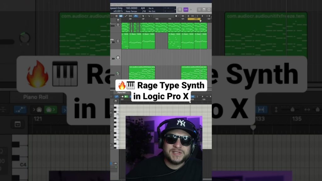 🎹🔥 How to make a Rage Type Synth in Logic Pro X with Alchemy! #shorts #logicprox 2