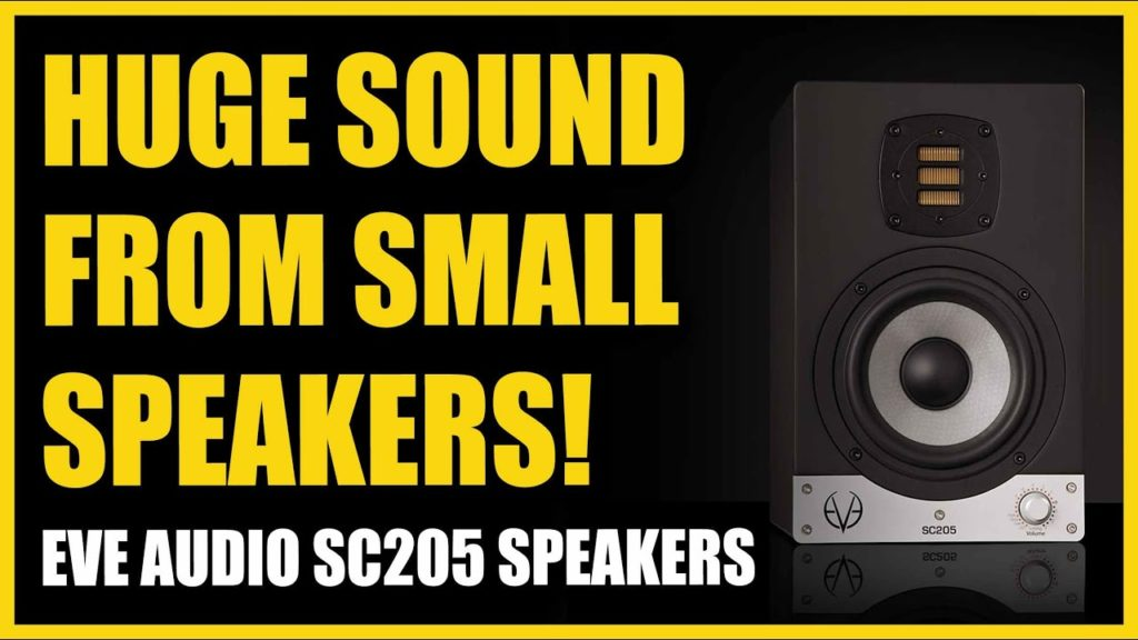 HUGE Sound From SMALL Speakers! EVE Audio SC205 Speakers 2